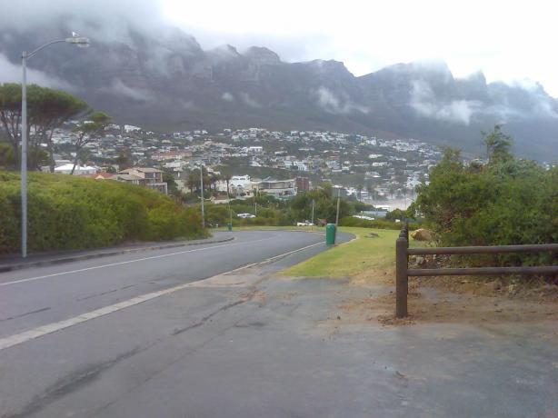 Camps Bay as seen from Lower Kloof Road
