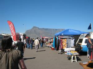A lazy Sunday at the Milnerton Flea Market
